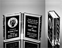 Folding Book Acrylic Award